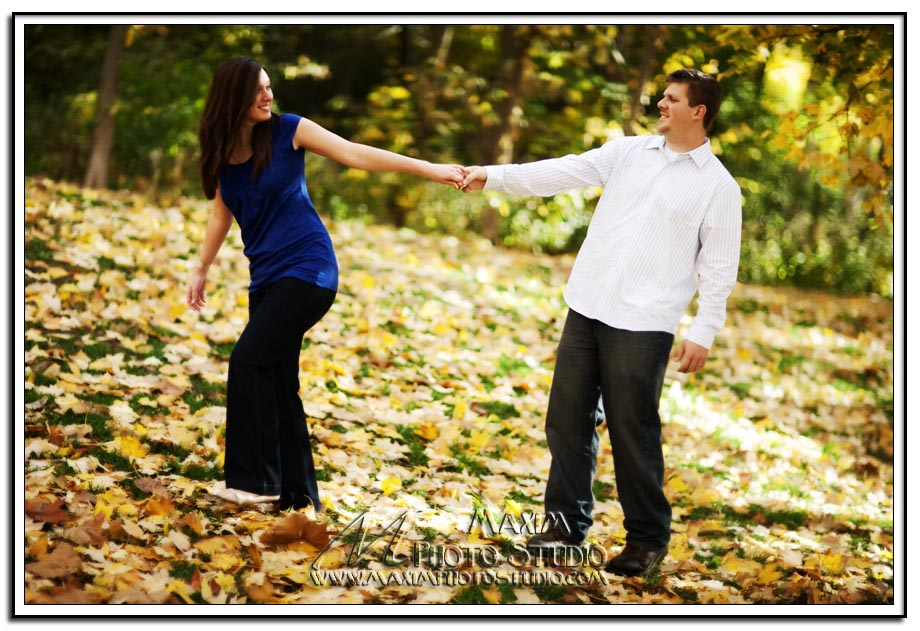 Sharon Woods Engagement Photography by Maxim Photo Studio