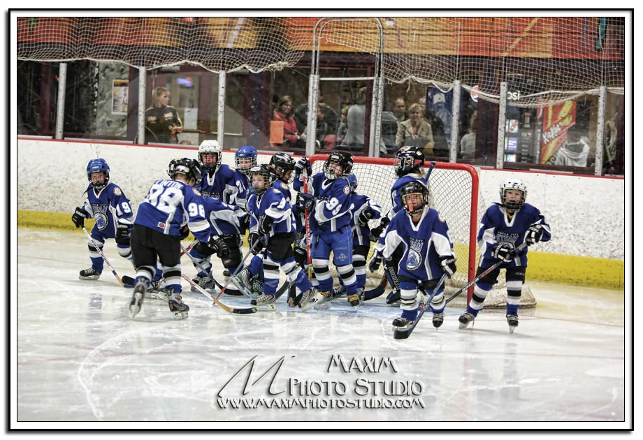 Queen City vs Dayton Bluehawks Hockey
