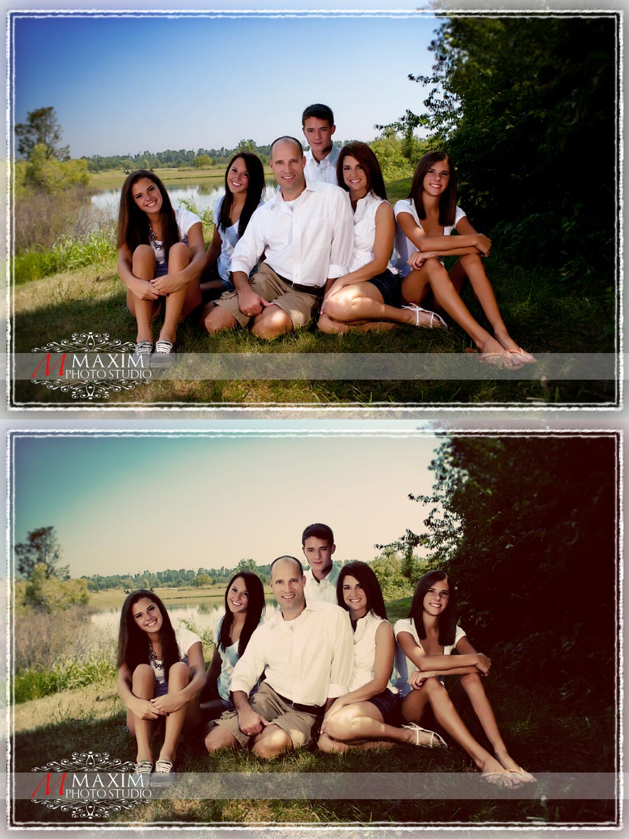 Dayton Family Photography Vintage Finish