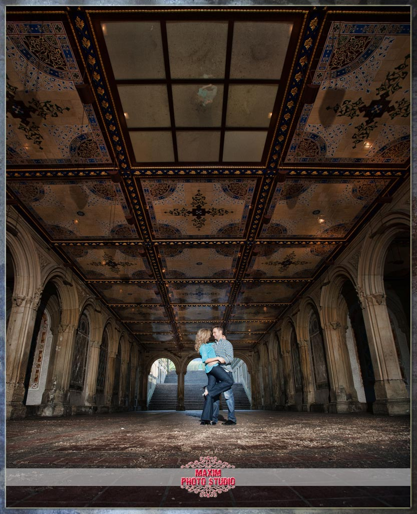 Maxim Photo Studio photographed an awesome engagement in New York City