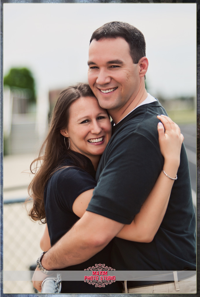 Maxim Photo Studio captured the engagement in West Chester OH