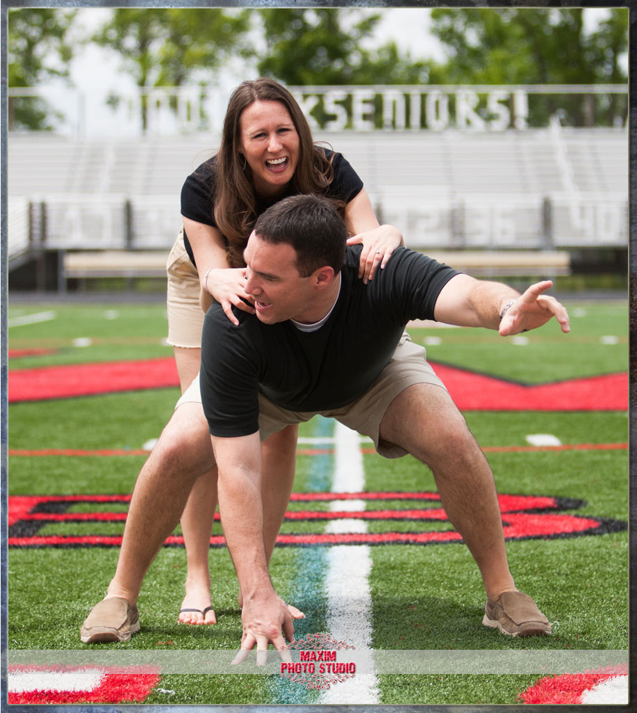 Maxim Photo Studio captured the engagement photo in West Chester OH