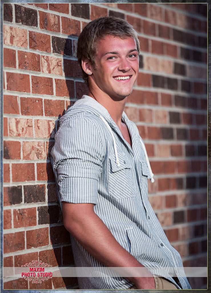 Maxim Photo Studio captured the Springboro Senior Photo 1