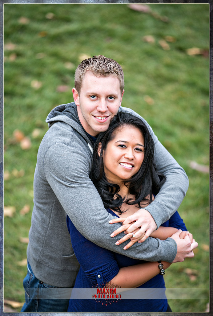 Inniswood Metro park engagement in Columbus
