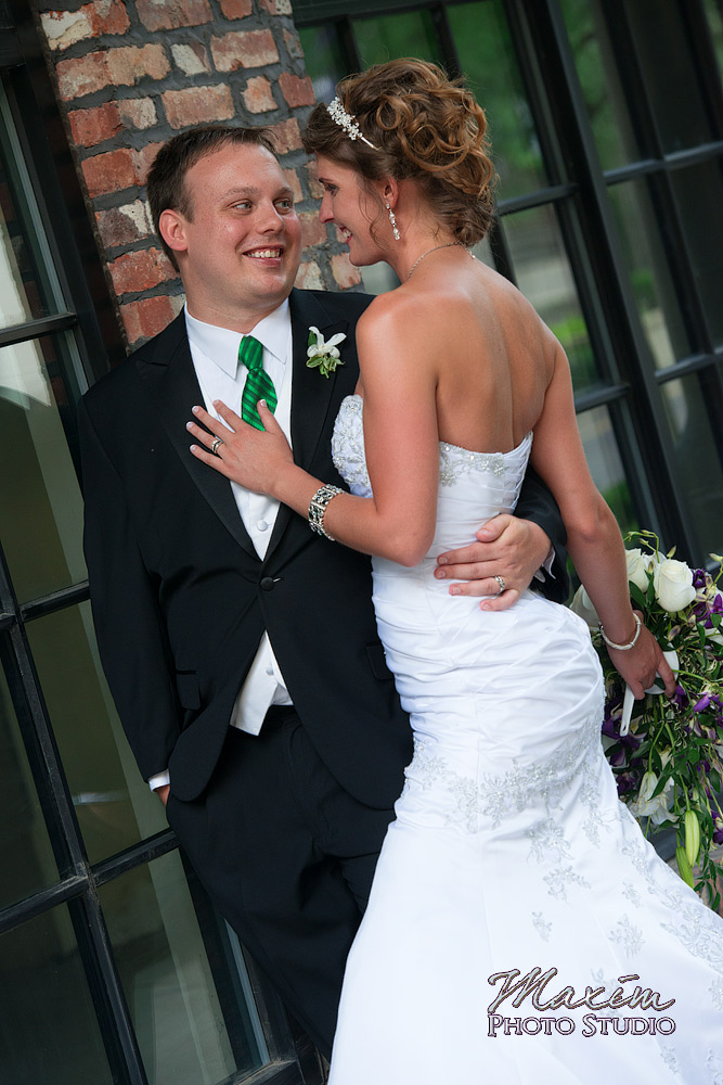 Wedding Portraits at Downtown Columbus